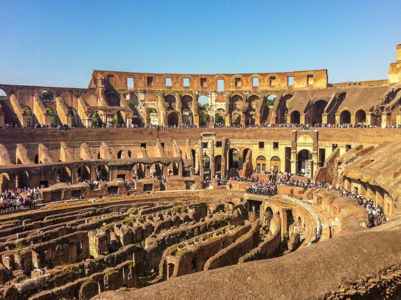 Colosseum van binnen