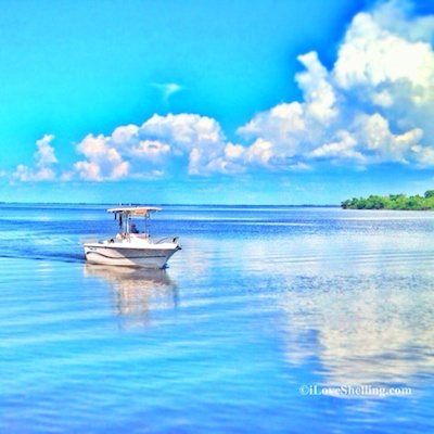Blue Sky Boating to Beachcomb