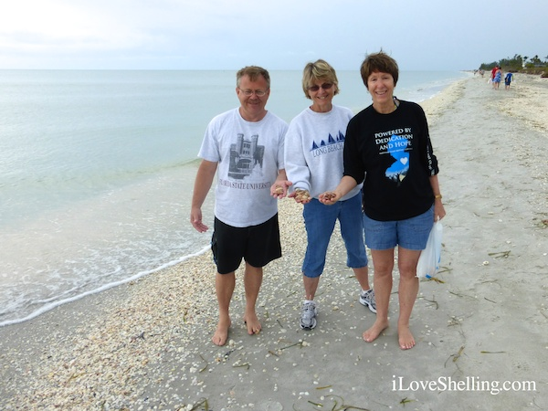 Beachcombing on Sanibel Island