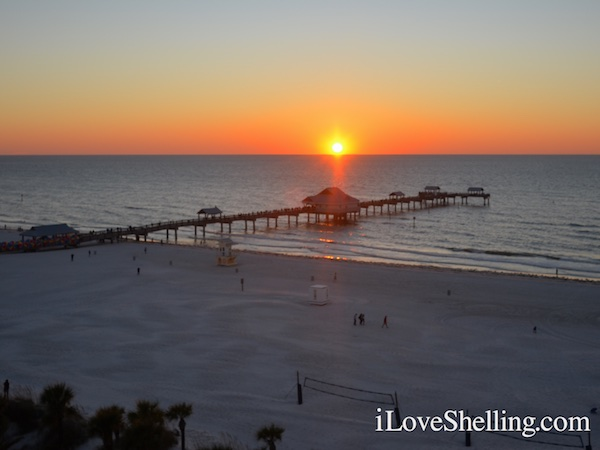 Sunset from Hilton Clearwater Beach Florida