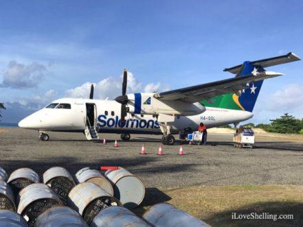 Solomon Air airplane Gizo