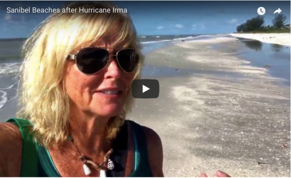Hurricane Irma Video Sanibel Beaches