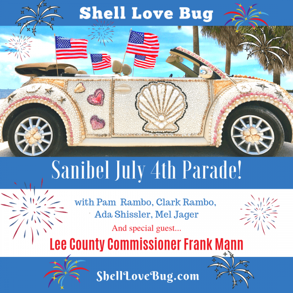 Shell Love Bug in Parade