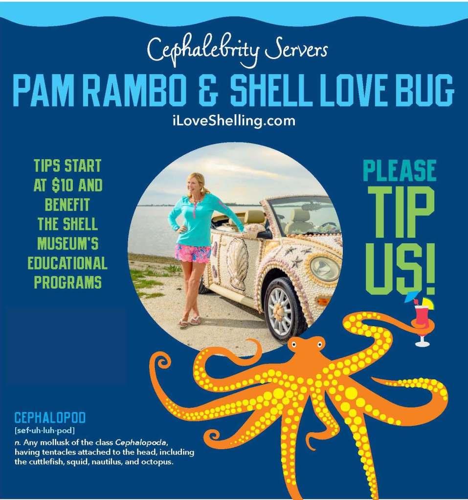 Pam Rambo Shell Love Bug
