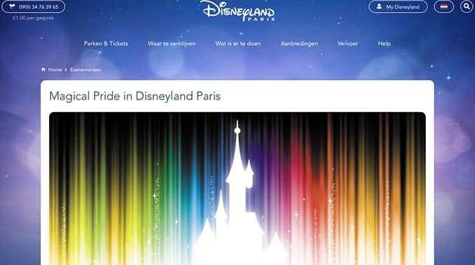 Disneyland Magical Pride
