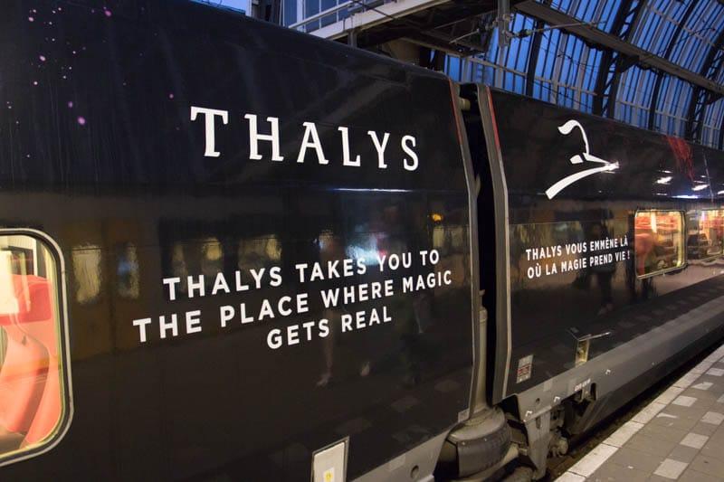 Thalys met Disneyland Parijs thema