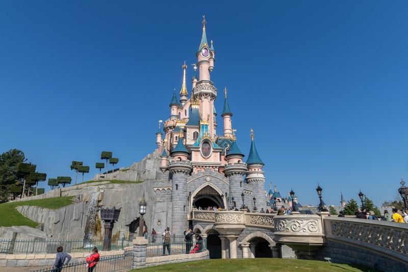 Het kasteel van Doornroosje Disneyland Parijs (Sleeping Beauty)