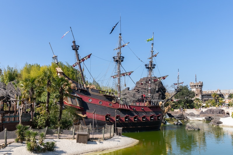 Piratenschip Kapitein Haak - Captain Hook's Pirate Ship