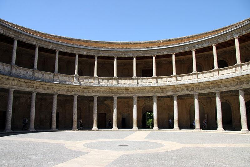 Het Paleis van Karel V, Alhambra Granada