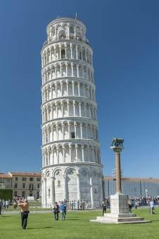 De scheve toren van Pisa