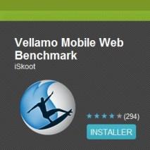 Tester les performances de sa tablette tactile Android avec l'application gratuite Vellamo 2