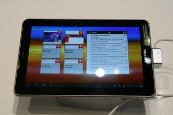 Samsung Galaxy Tab 7.7 : Démonstration vidéo au salon de l'IFA 2011 8