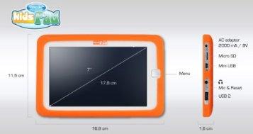 Kids Pad : la tablette tactile pour les enfants de 6 à 12 ans 1