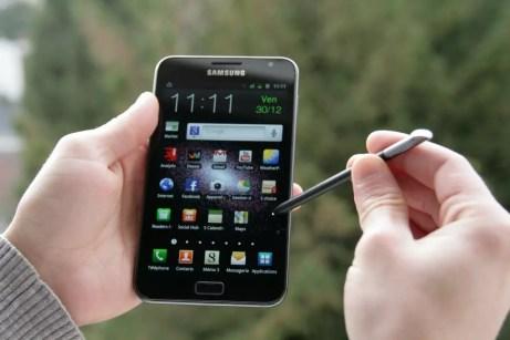 Test Samsung Galaxy Note : Smartphone? Tablette? 2