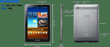 Samsung Galaxy Tab 7.7 : la première tablette tactile avec un écran Super AMOLED Plus au CES ! 2