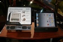 CES 2012 : Incarbite Car Mount,support voiture et speaker portable pour iPad 2 5