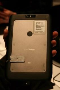 CES 2012 : Démonstration des tablettes Motorola Xoom 2 et Xoom media Edition 2