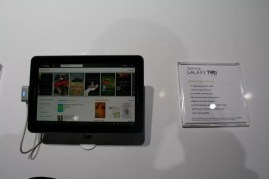 Samsung Galaxy Tab 7.7 : la première tablette tactile avec un écran Super AMOLED Plus au CES ! 1