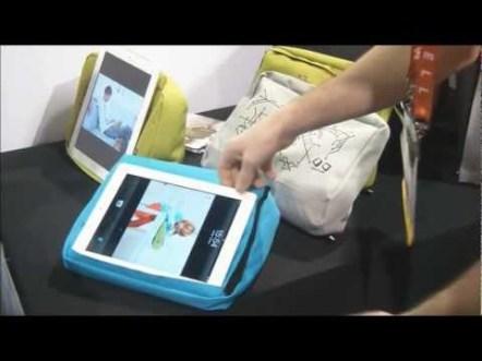 CES 2012 : Accessoire BOSIGN Tablet pillow 1