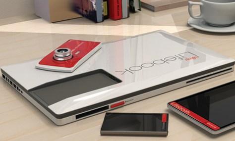 Concept Tablette tactile : Fujitsu détonne avec un nouveau prototype 4 en 1, le Fujitsu Lifebook 4