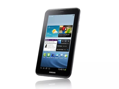Samsung officialise sa nouvelle tablette tactile sous Android 4 : la Galaxy Tab 2 1