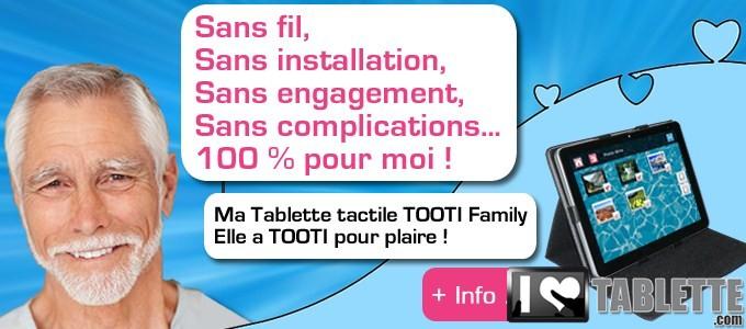 Tablette TOOTI Family : la tablette tactile pour les séniors qui connecte les générations entre elles ! 1