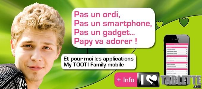 Tablette TOOTI Family : la tablette tactile pour les séniors qui connecte les générations entre elles ! 6