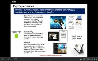 Une tablette Sony Xperia en préparation ? 5