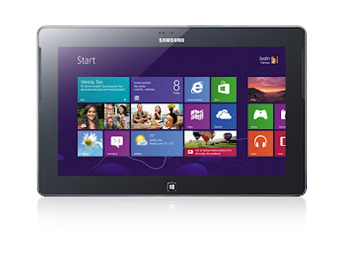 Samsung ATIV Tab : une nouvelle tablette tactile sous Windows 8 RT 9