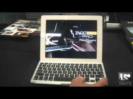 Accessoire pour iPad : Zagg Keys Pro, un clavier aimanté avec coque de protection 1