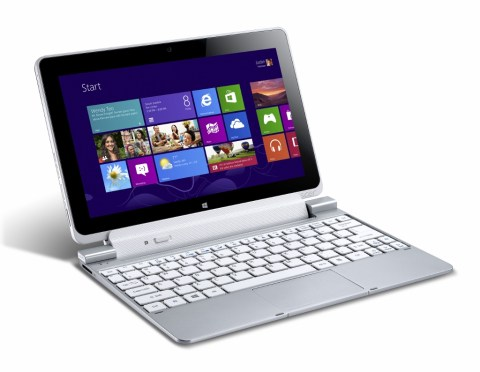 Acer Iconia Tab W510 : prise en main de la nouvelle tablette Windows 8 à l'IFA de Berlin 9