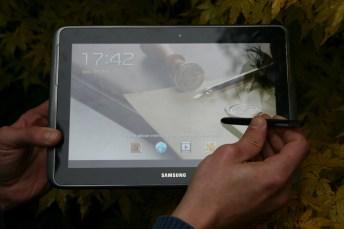 Test Samsung Galaxy Note 10.1 : tablette avec stylet intégré 1