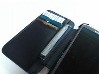 Test housse en cuir de protection Norêve pour Samsung Galaxy Note 2 13