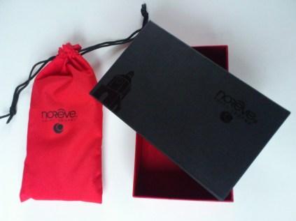 Test housse en cuir de protection Norêve pour Samsung Galaxy Note 2 3
