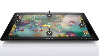 Sortie officielle de la tablette géante Lenovo IdeaCentre Horizon (27 pouces !) 10
