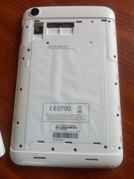 Test tablette Lenovo IdeaTab A3000 9