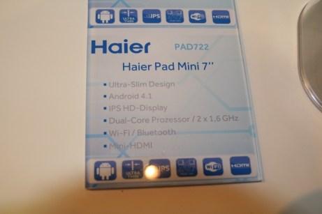 HaierPad Mini 7 (PAD-722) : prise en main de la tablette 7 pouces d'Haier revue et corrigée 6