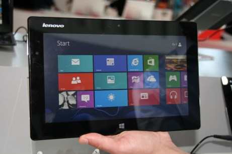 IFA 2013 : Prise en main de la tablette Lenovo Miix sous Windows 8, photos et vidéos 6