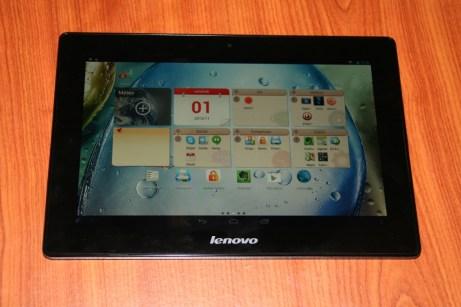 Test tablette Lenovo IdeaTab S6000 13