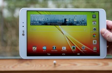 Test complet de la tablette LG G Pad 8.3 12