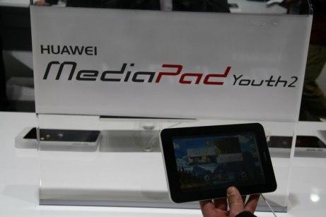 [MWC 2014] Présentation de la tablette Huawei MediaPad M1 8.0 et MediaPad Youth 2 11