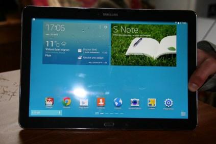 Test de la tablette Samsung Galaxy Note Pro 12.2 5