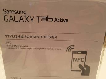 [IFA 2014] Tablette Samsung Galaxy Tab Active pour plus de robustesse 10
