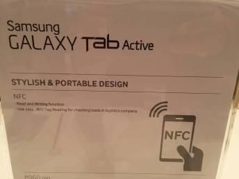 [IFA 2014] Tablette Samsung Galaxy Tab Active pour plus de robustesse 10