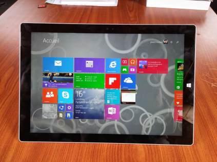 Test Microsoft Surface Pro 3 1