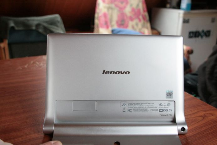 Test de la tablette Lenovo Yoga Tablet 2 5