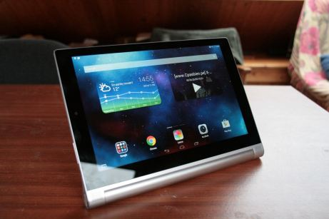 Test de la tablette Lenovo Yoga Tablet 2 16