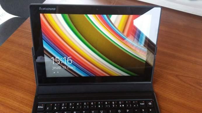 Test de la tablette Lenovo Miix 3 9