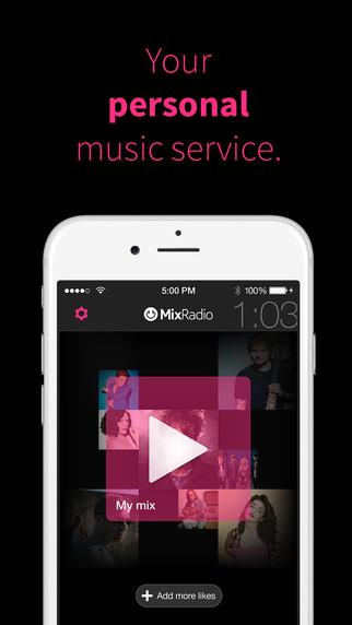 MixRadio débarque sur les plateformes iOS et Android 2