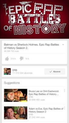 YouTube : des vidéos enfin en 60 FPS sur nos tablettes 5
